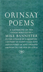 orinsay peoms by mike bannister